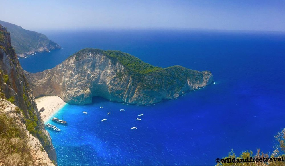 Navagio Beach- Zakynthos, Greece