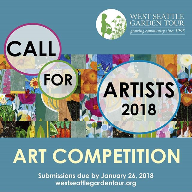 Got talent? Think about entering the West Seattle Garden Tour 2018 Art Competition. Submissions due online by Jan 26. Get all the details at the link below, and please share with your artist communities! http://ow.ly/pDaV30gYo85 #seattle #callforartists #gardening #gardenart #westseattle #wsgt2018