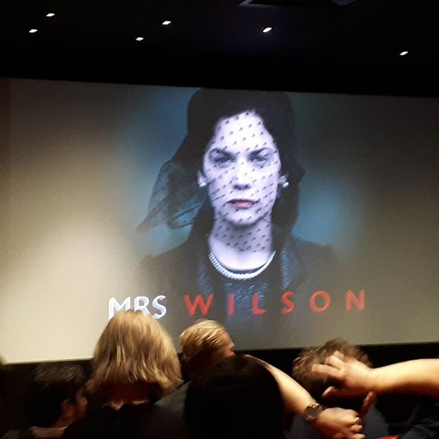Just finished the screening of my pal Ruth's new televsion drama 'Mrs Wilson'. Unbelievable true story. On BBC One this Tuesday. I urge you to see it.