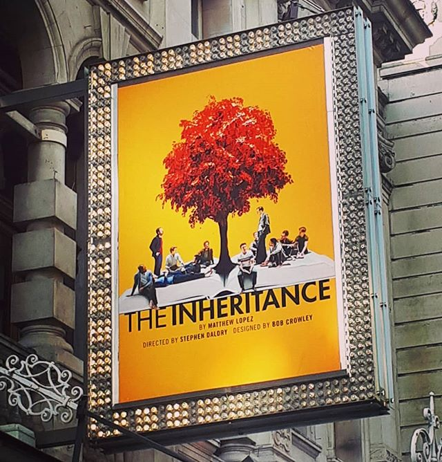 Ok, let's do this #part1 #theinheritance #stephendaldry #londontheatre #westend @inheritanceplay