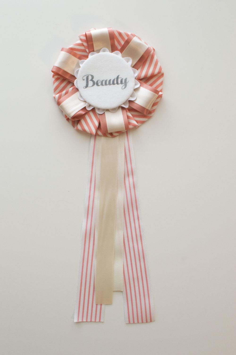 Beauty Ribbon Rosette