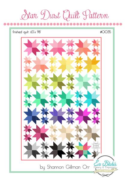 star dust quilt pattern