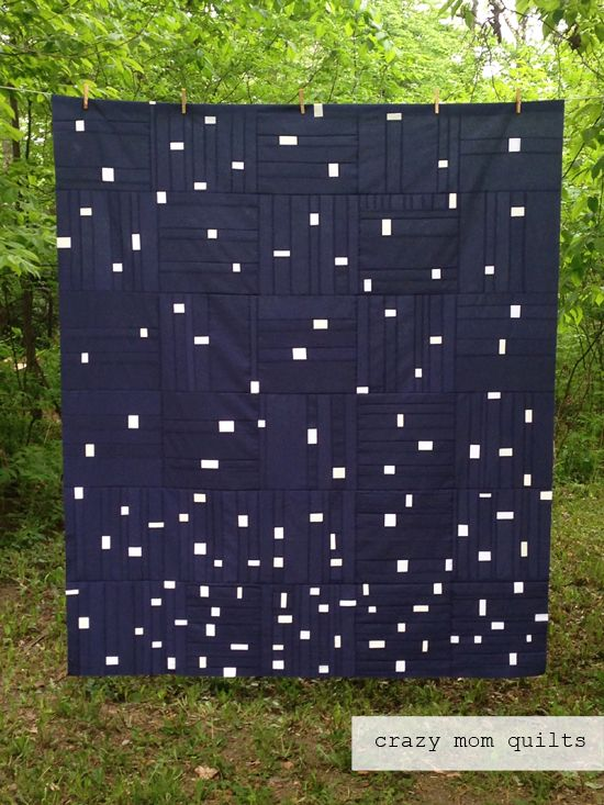 Crazy Mom Quilts  Scattered Showers Quilt