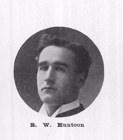 Richard Huntoon, 1907