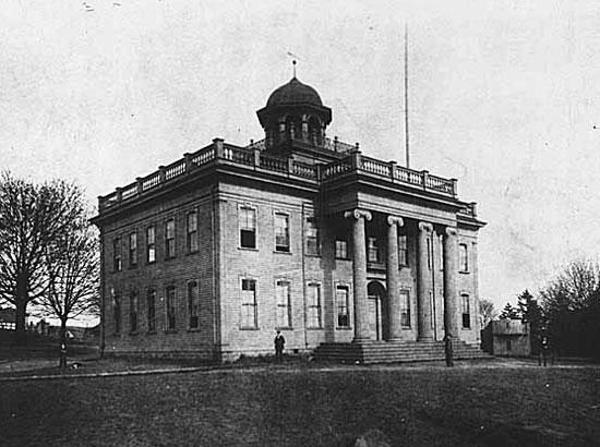 Territorial University Building, c1870