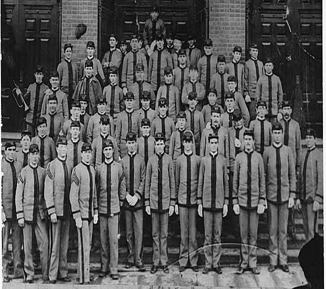 Cadet corps, Jan 25, 1895                                   University of Washington libraries, special collections, uw6045