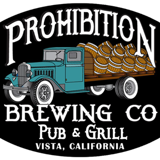 Prohibition Brewing Company - 2004 E Vista WayVista, California, CA 92084