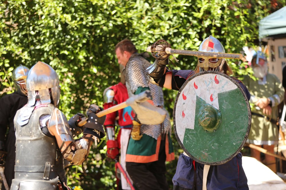 Viking Battles and combat demonSTrations (Photo: Julie Watts