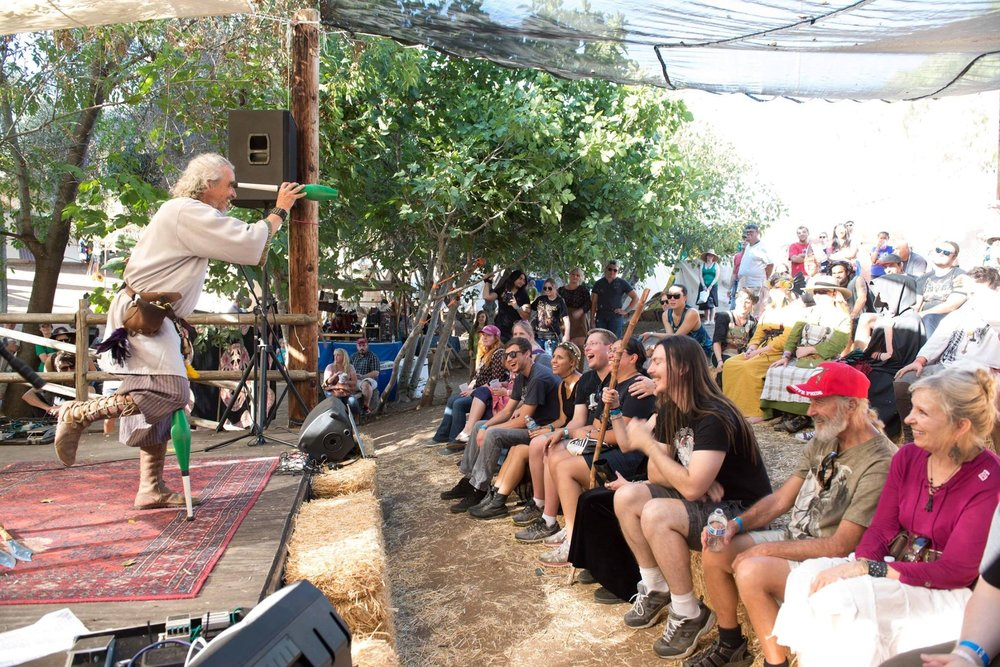 For comic relief,  The Bawdy Juggler  will amaze and embarrass the crowd at the Loki Stage. Photo: Vista Viking Festival
