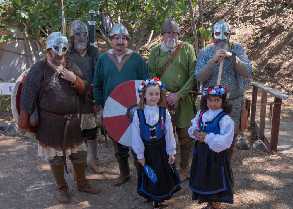 Generations of Our Viking Festival Family Invite You To Join Us Photo: Krisztina Scheef