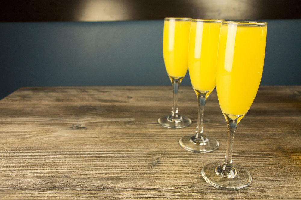 but first, brunch breakfast sandwiches, lobster omelettes, bottomless mimosas - oh my! Sunday 11am - 3pm; $8.99 bottomless mimosas