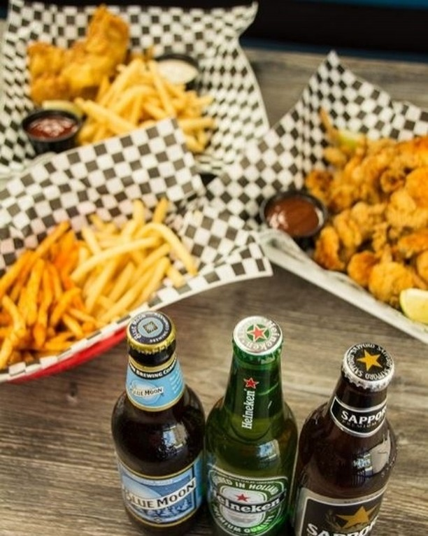 Get ready for SUNDAY PLAYOFF - FOOOOOOOOTBALL!!! Happy hour ALL DAY at Mike & Nate's House of Seafood! 1/2 off draft/bottle beers, wines & cocktails. And did i mention FOOD? Yes, that too! Open tomorrow from 11am to 9pm. Drop by for a beer... or 2 =D