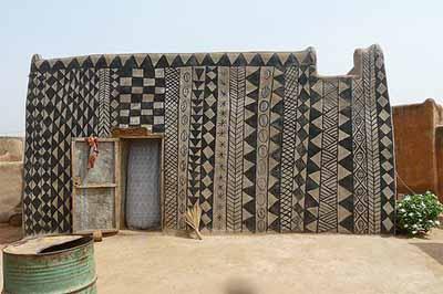 Litema  art in Lesotho.