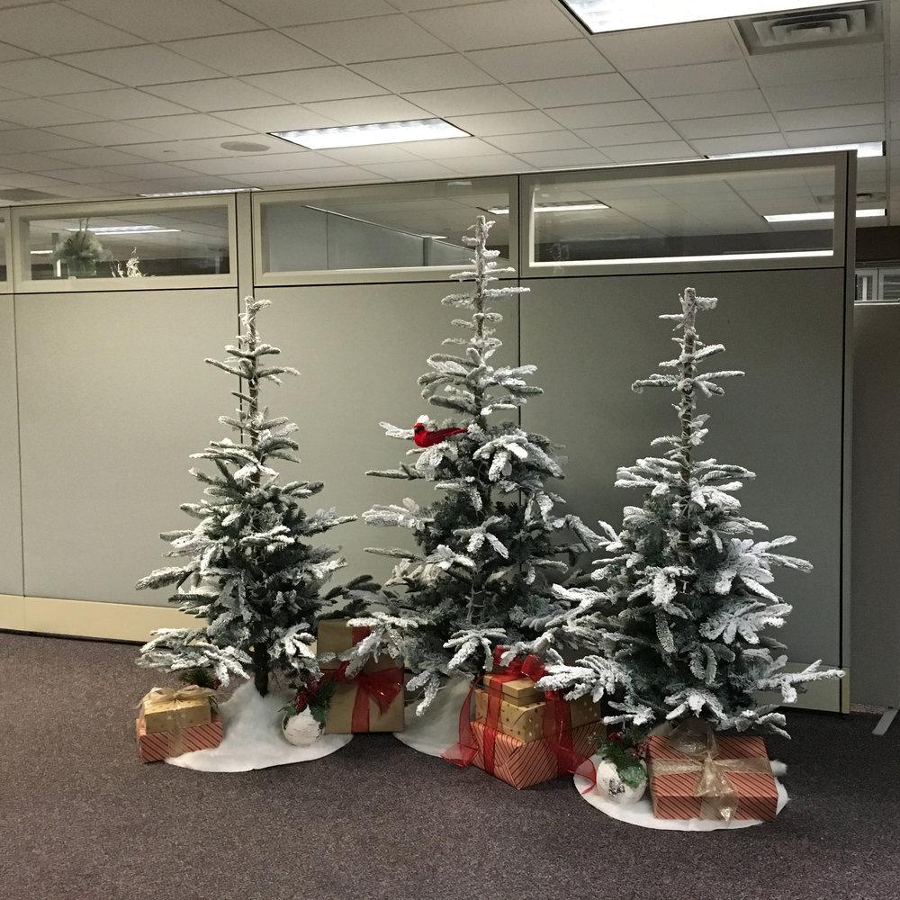Corporate Holiday Decor
