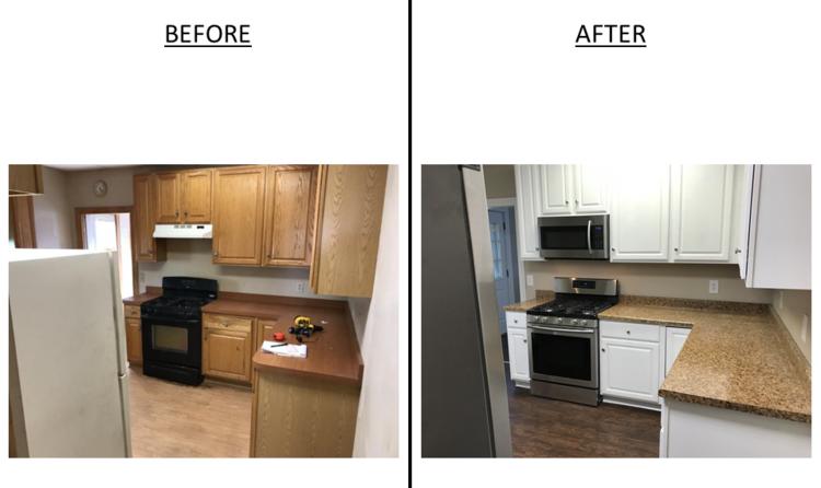 Left Side - Kitchen
