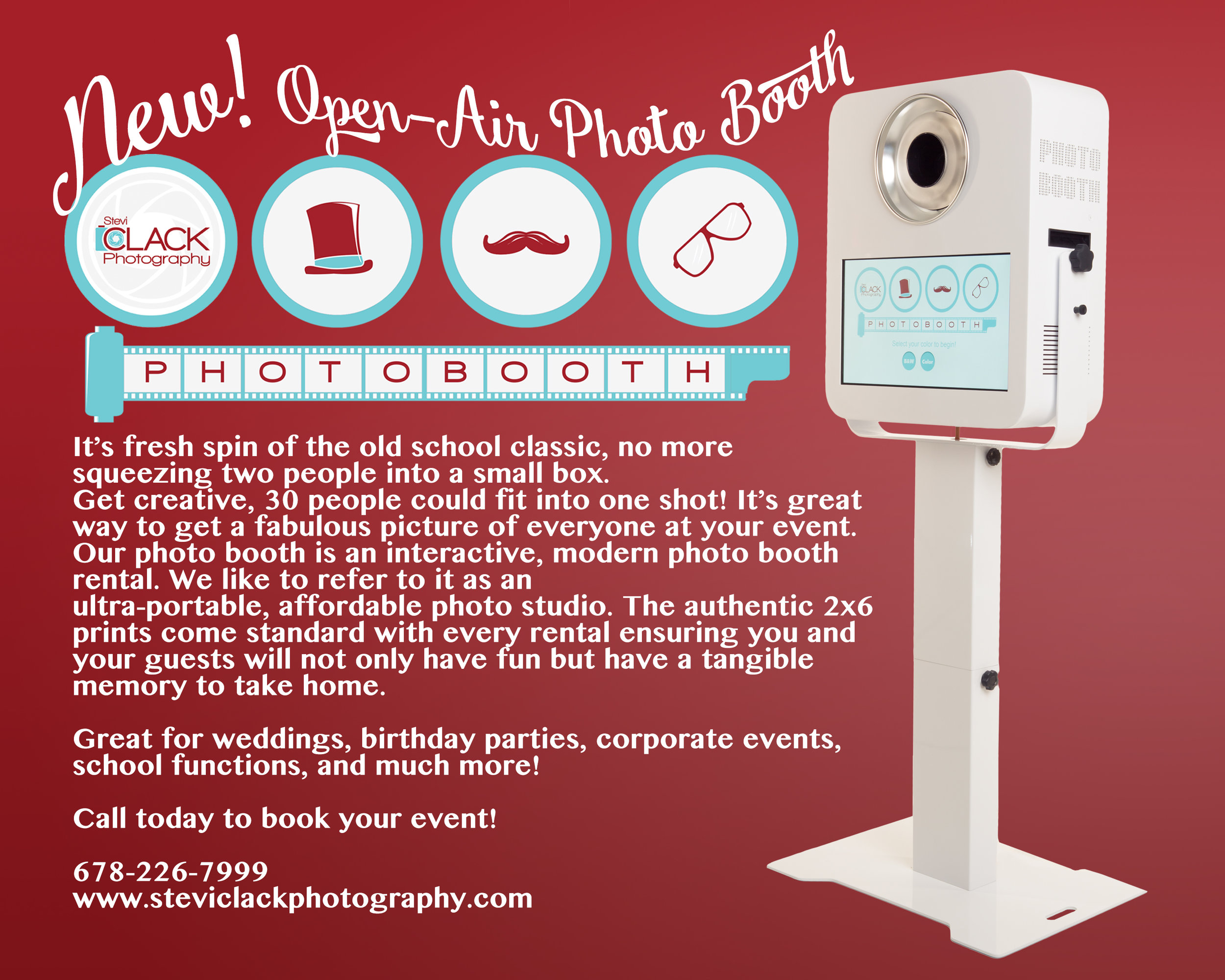 photobooth ad red