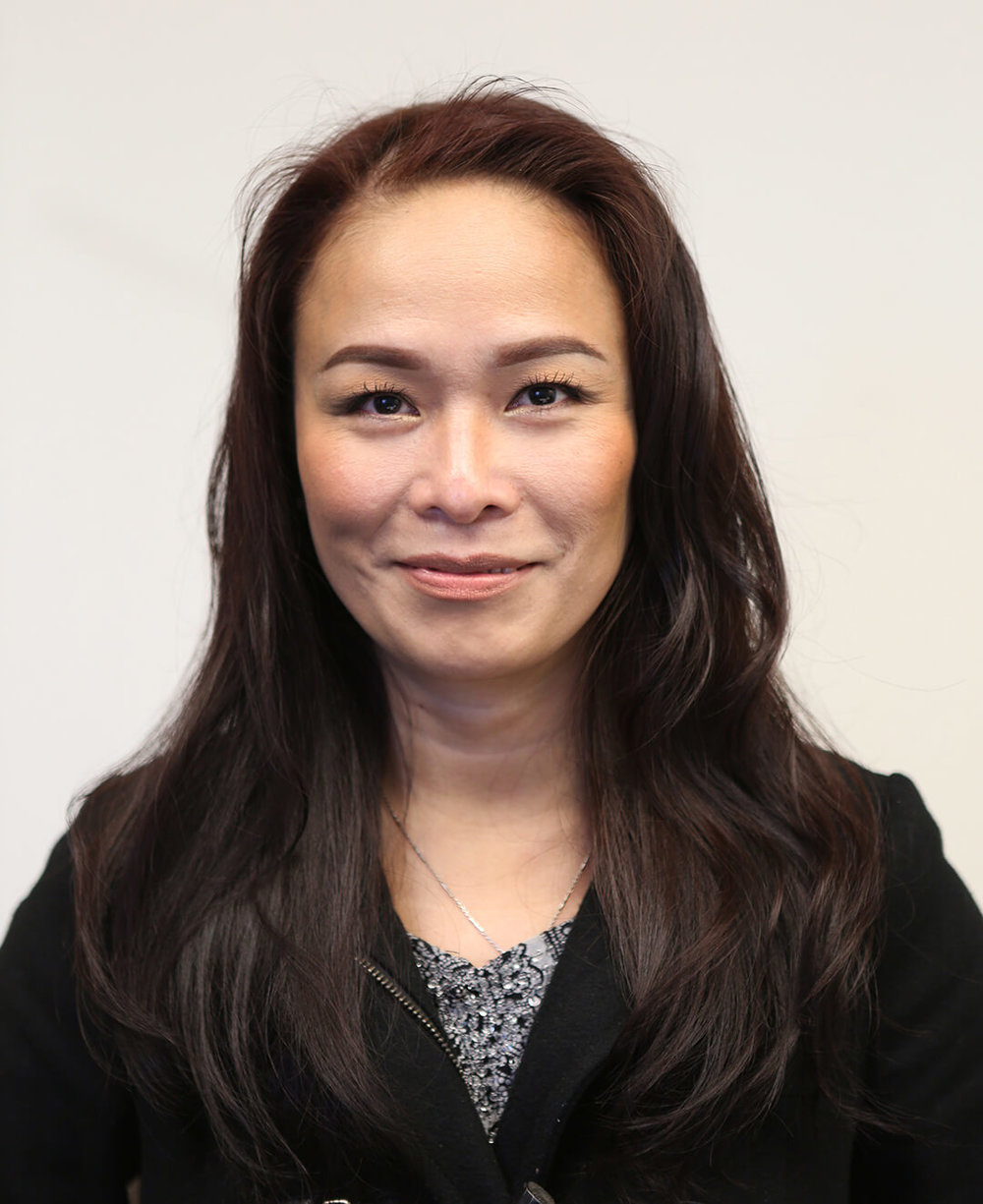 Iris Tan Controller - Iris has been a part of the RCD Team since 2005 managing the accounting department. Iris enjoys shopping and baking for her family.