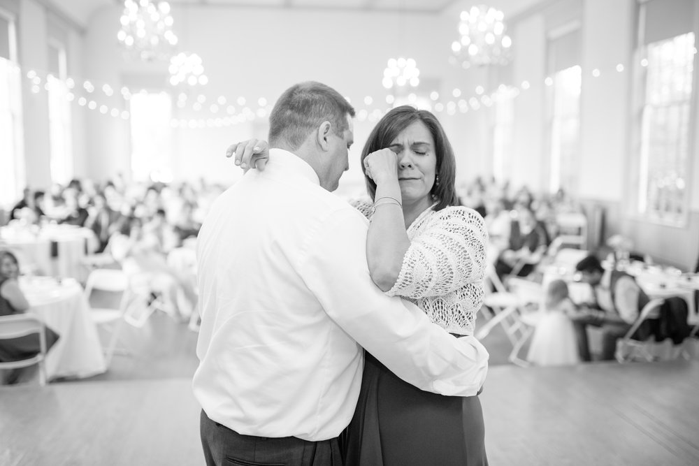 On this day, 34 years ago, these two met. Allysa's dad surprised her mom with their own special dance to celebrate.... few dry eyes in the room!