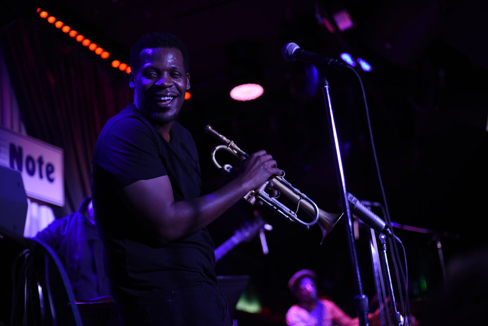 Keyon Blue Note show smiling.JPG