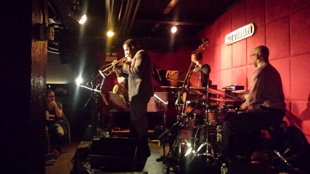 Keyon with Otis Brown @ Jazz Standard.jpg