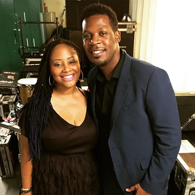 Here with the amazingly talented and beautiful @lalahhathaway , great and inspiring times on the #bluenotecruise