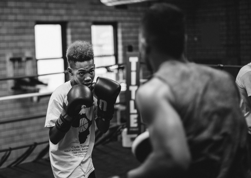 NORTHSIDE BOXING CLUB - Our Mission is to utilize boxing as a tool to help inner city youth to learn discipline and compassion, physical fitness and self confidence. The goal is to empower each person to make positive changes in their life.