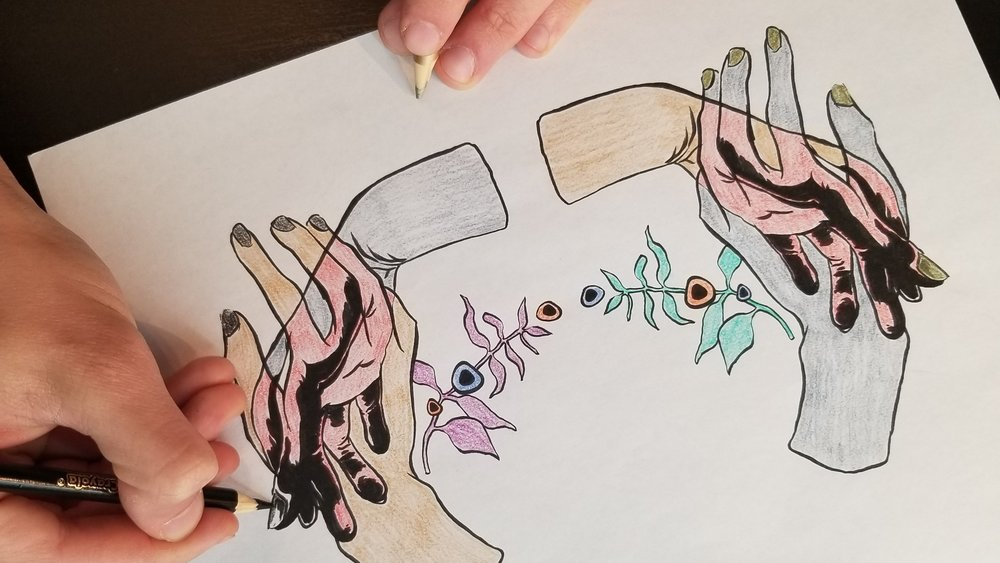 Ambidextrous Coloring Sheet -