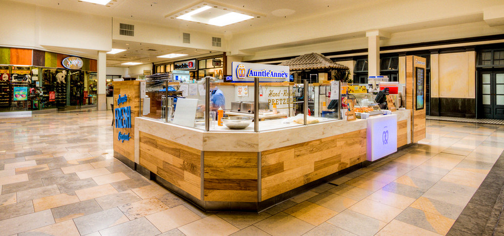 Interiors   Auntie Anne's at North Star Mall   See Project