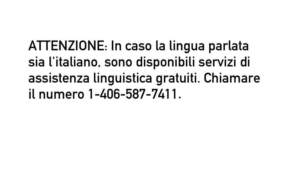 Italian Tagline