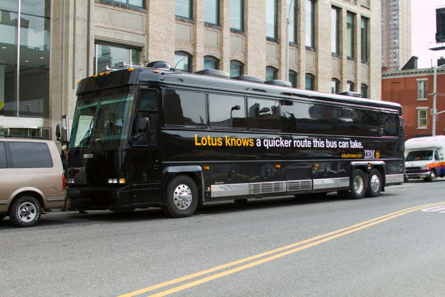 Copy of Lotus knows: Bus Wraps