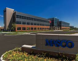 MASCO sales up 8 percent. -