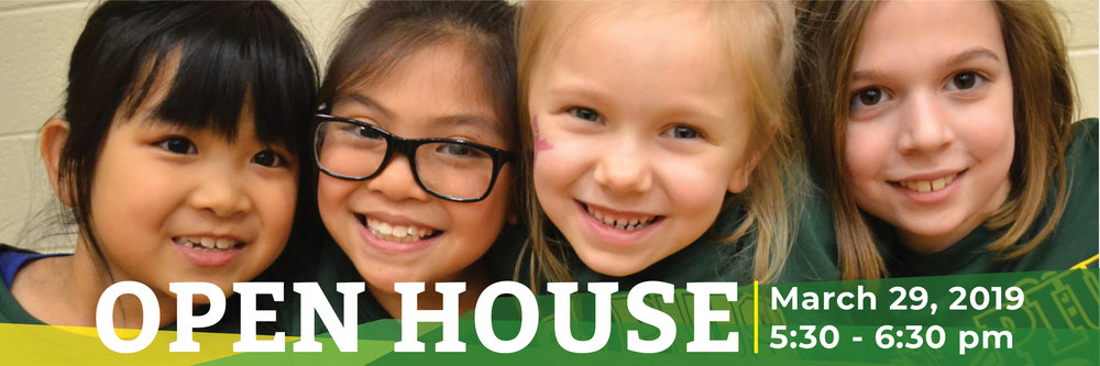 OPEN HOUSE Friday, March 29 5:30–6:30pm