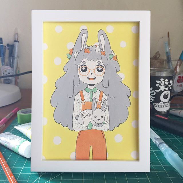 Hey! I'm gunna be at the #bunny show @candybabel. It's going to be super cute so come check it out. Opening is March 3.