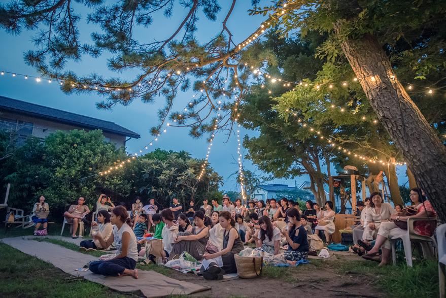 2015.8.1 (sat) Half Mile Beach Club #6   Date: 2015/08/01(sat) Place:  CINEMA AMIGO  LIVE:  jan and naomi ,  SaToA  FILM: はじまりのうた (Director/Writer: John Carney) DJ: Half Mile Beach Club  All Photo by Reina Watanabe