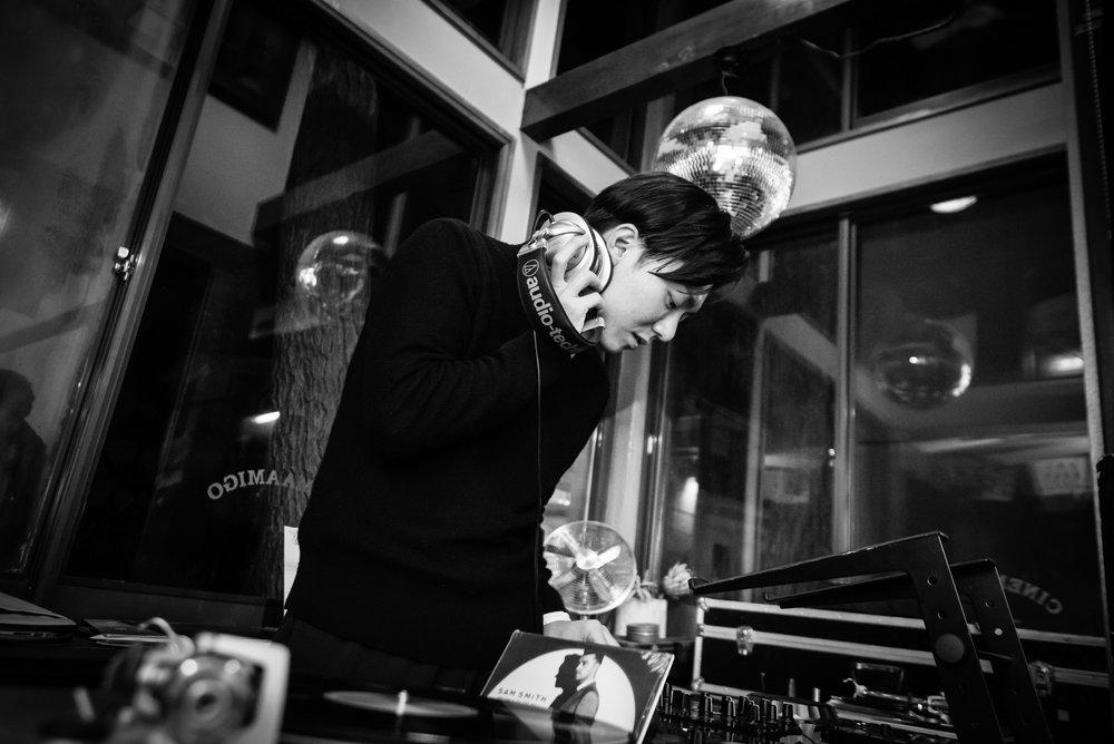 2015.12.5 (sat) Half Mile Beach Club #7   Date: 2015/12/05(sat) Place:  CINEMA AMIGO  LIVE:  Maika Lebout  é  FILM: EDEN (Director/Writter: Mia Hansen-Løve) DJ:  CLAT crew , Half Mile Beach Club  All Photo by Reina Watanabe