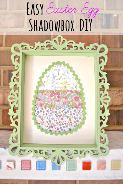 Easter Egg Shadowbox