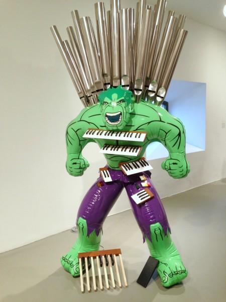 Jeff Koons hulk