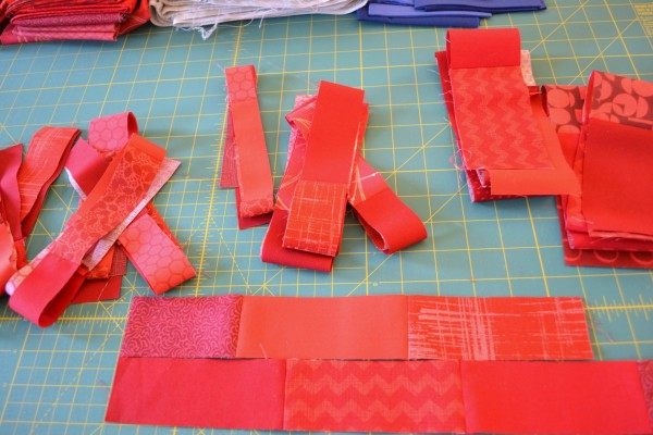 Flag Fabric Strips