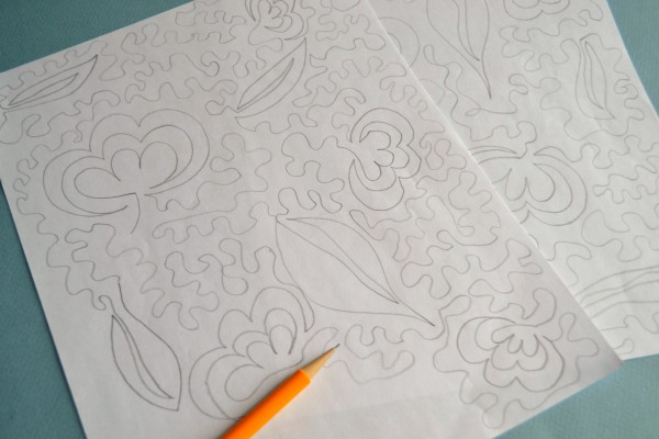 Quilting Drawing