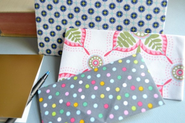 Easy No-Sew Fabric Envelopes