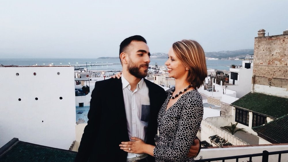 Engagement in Tangier, Morocco | Ruby Josephine