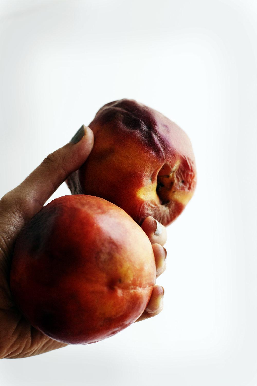 Peach Almond Snack Cake (gluten free) | Ruby Josephine