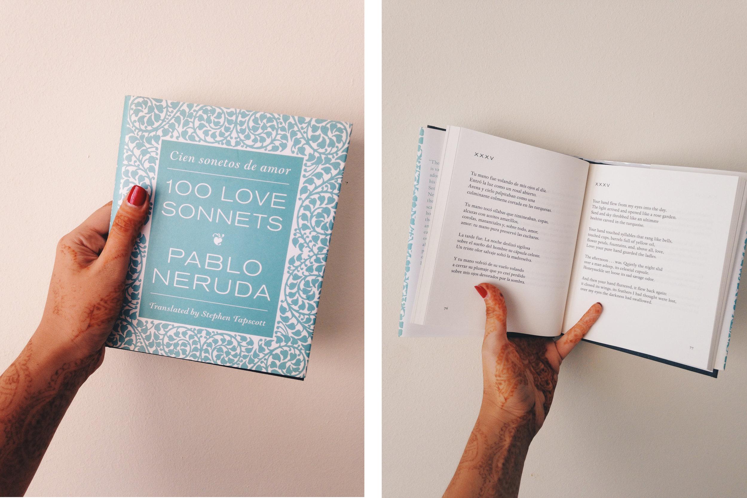 Cien Sonetos de Amor, Pablo Neruda | Ruby Josephine Blog