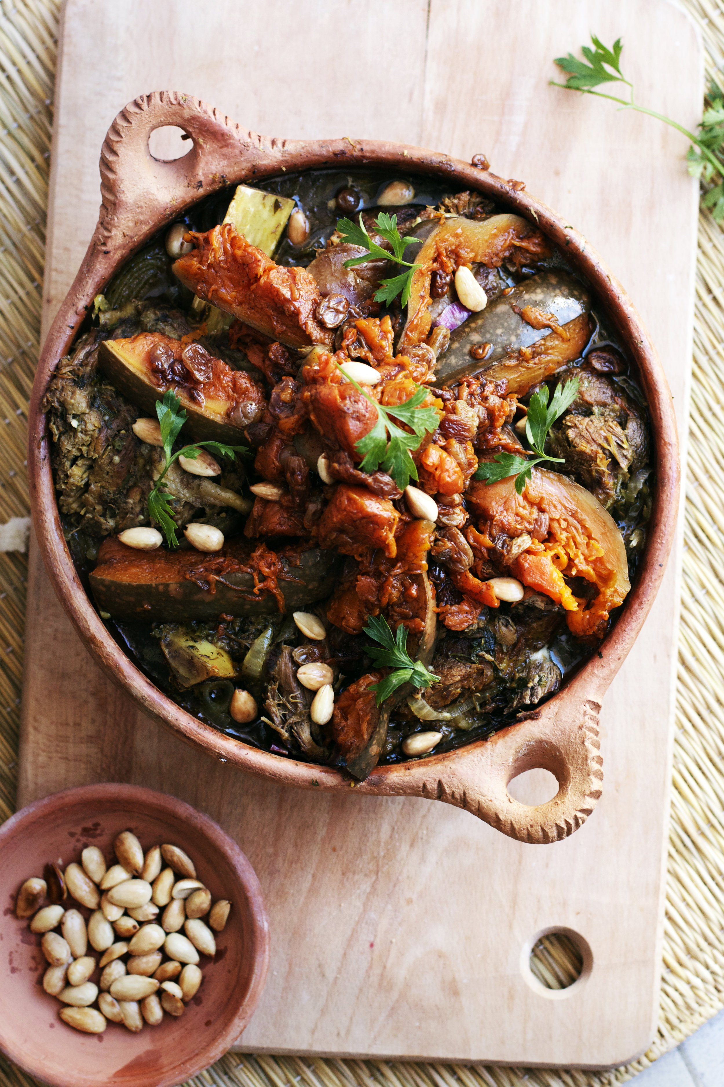 Moroccan Sweet Pumpkin + Beef Tagine plus a #virtualpumpkinparty! | Ruby Josephine