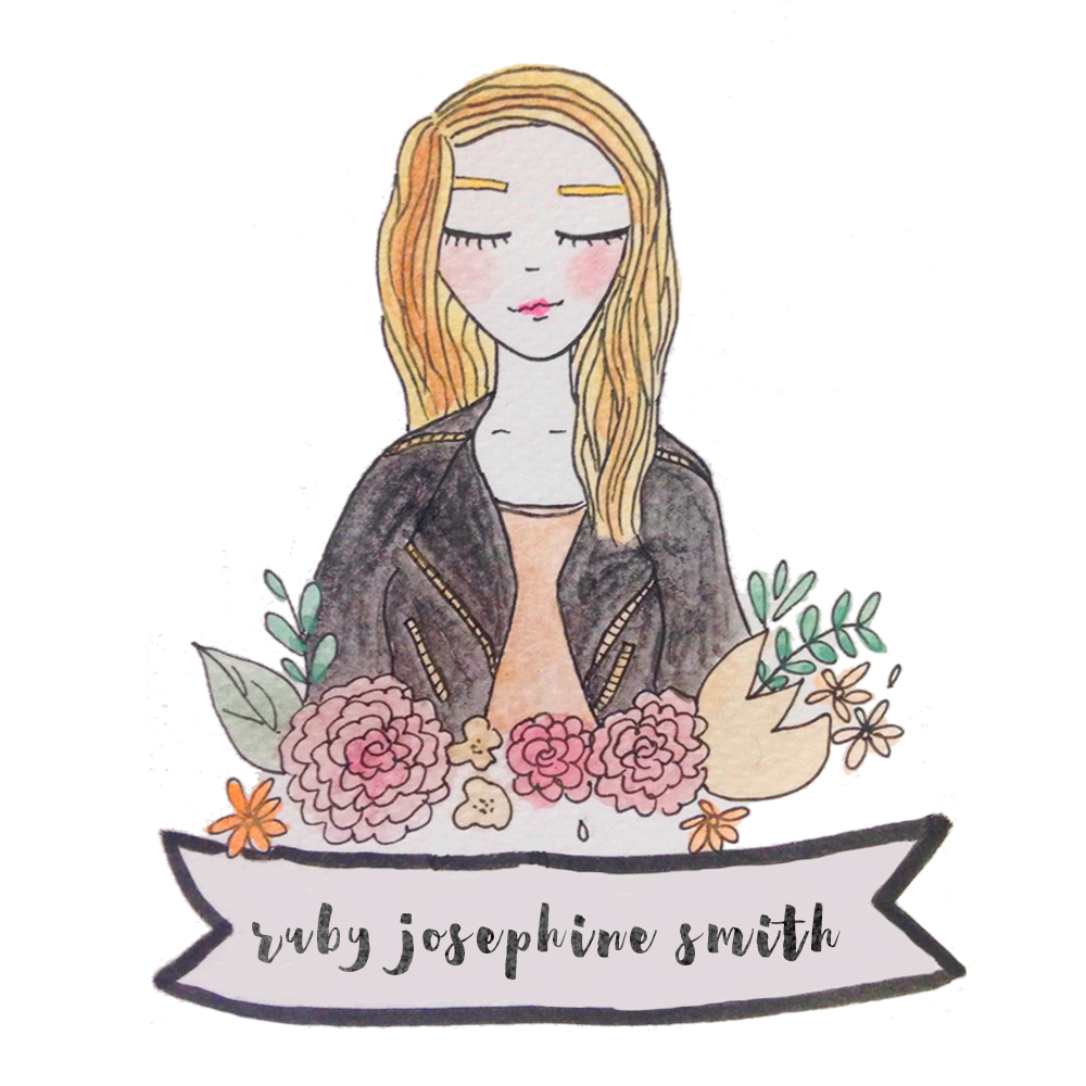 Ruby Josephine for the Woman Up Podcast, Illustrated by Safiyah Moulana | rubyjosephine.com