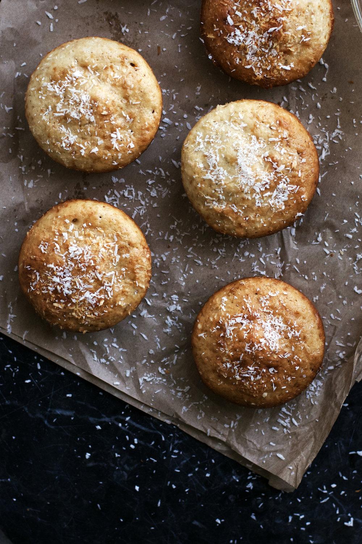 Coconut Dulce de Leche Muffins (dairy-free) | Ruby Josephine