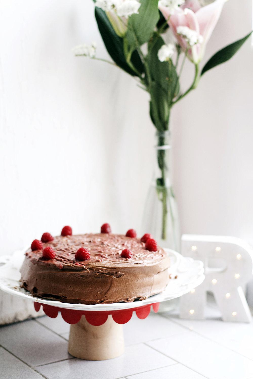 Raspberry Mocha Cake + 25th Birthday Happenings | Ruby Josephine