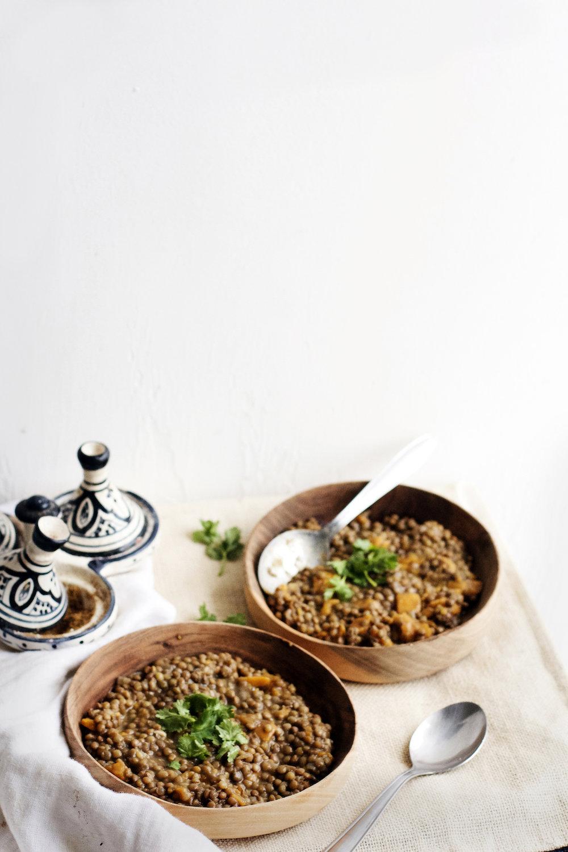 Super Cozy Sweet Potato Lentil Stew (vegan + gluten-free) | Ruby Josephine
