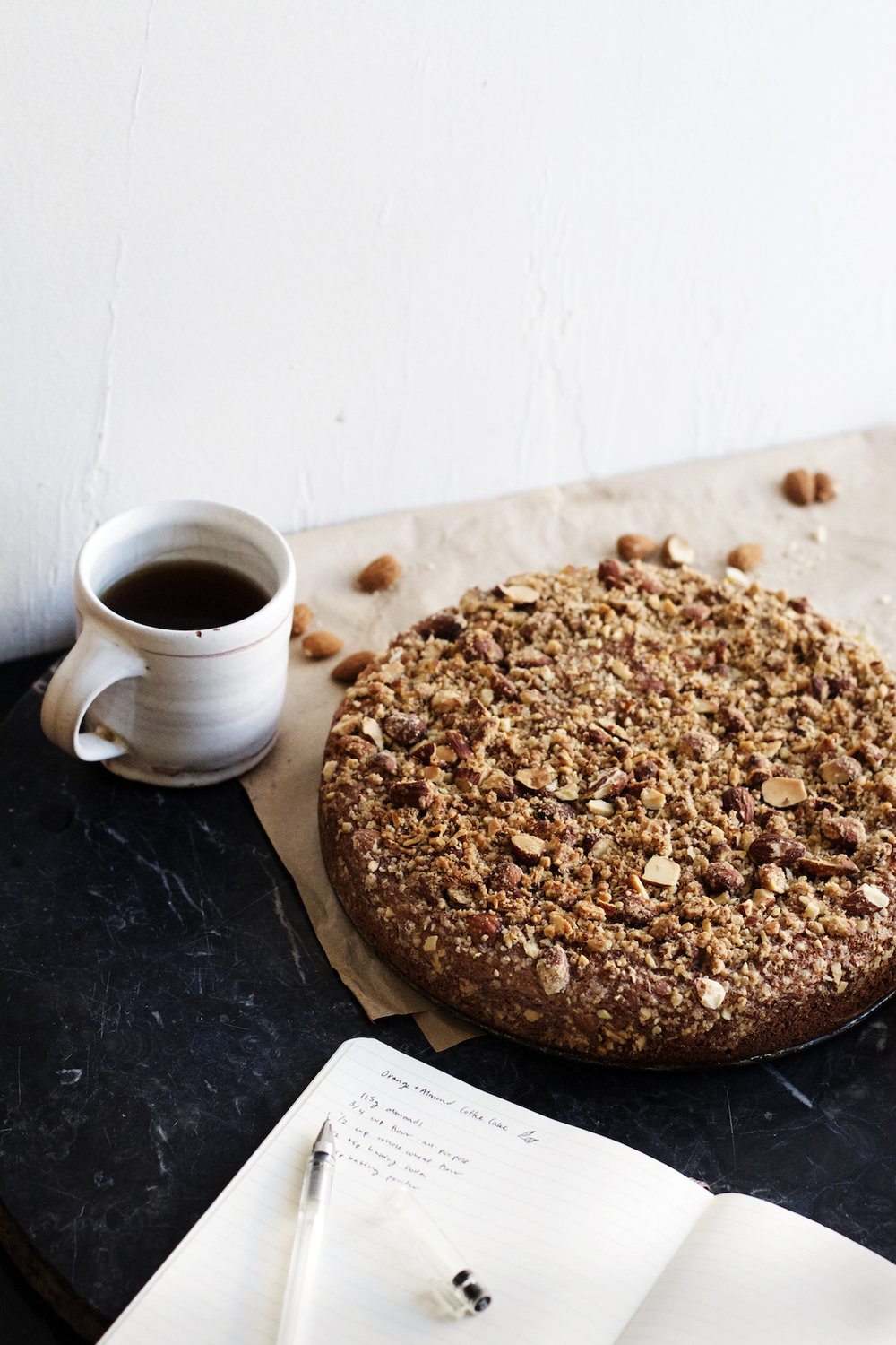 Orange + Almond Crumble Coffee Cake | Ruby Josephine