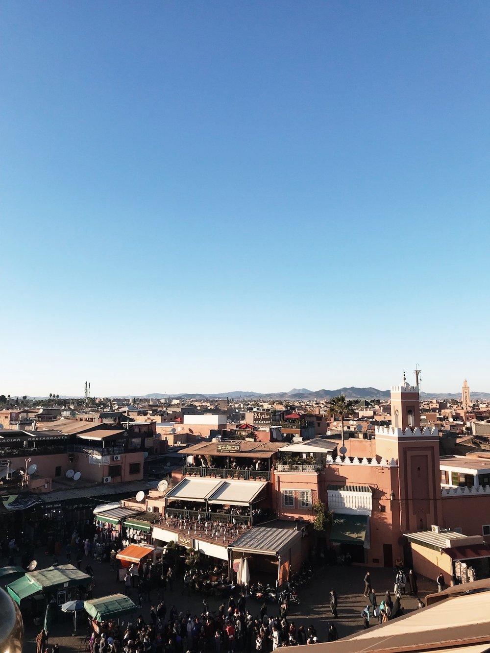 Jemaa el-Fnaa, Marrakech | Ruby Josephine